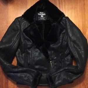 ECHO UNLTD Black Crop Jacket